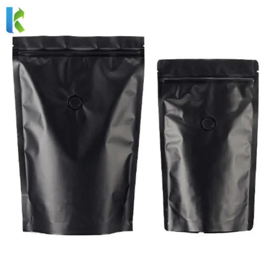 Factory Matte Aluminium Foil Coffee Bag for Coffee Packaging Pouch Bag with Zipper