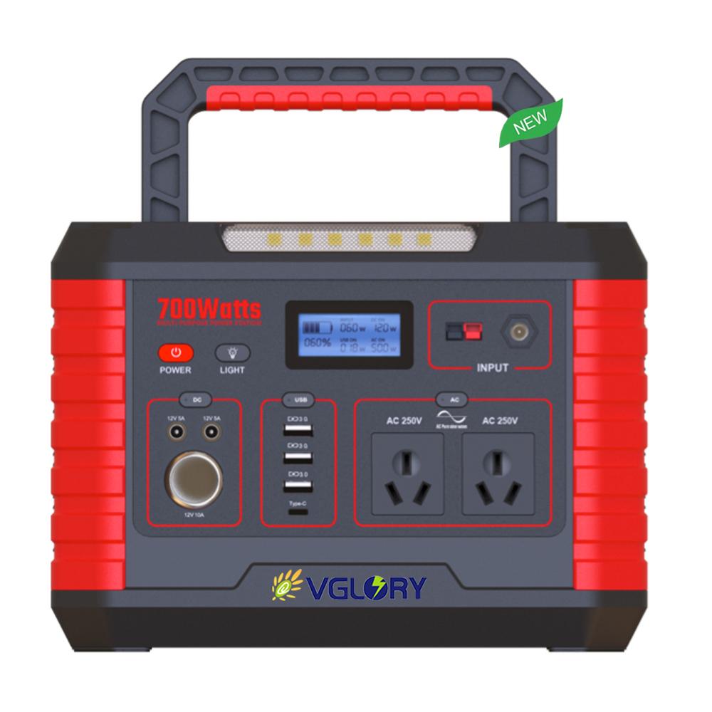 Weight Electronic Mini Ups Power Energy Station Intelligent Machinery 500w Solar Electric Generator