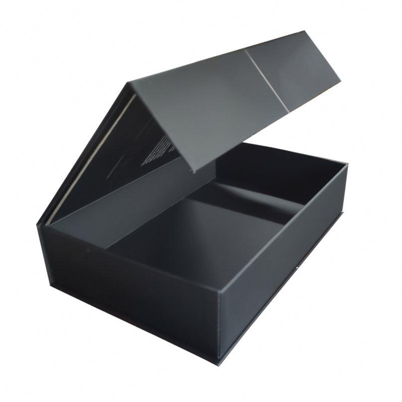Black custom printing corrugated kraft cardboard paper carton box for shipping