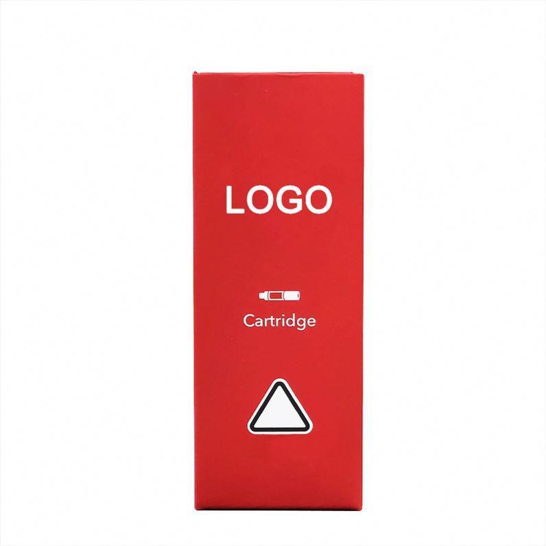 Custom vaporizer pen box oil cbd vape cartridge packaging