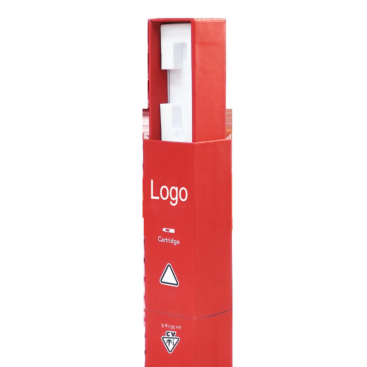 Wholesale Paladin Custom cbd cartridge packaging Button Lock Drawer Box vape cartridge packaging paper box