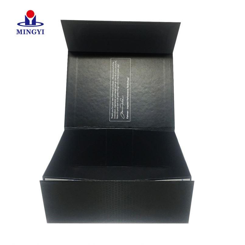Black custom printing corrugated kraft cardboard paper carton box for shipping
