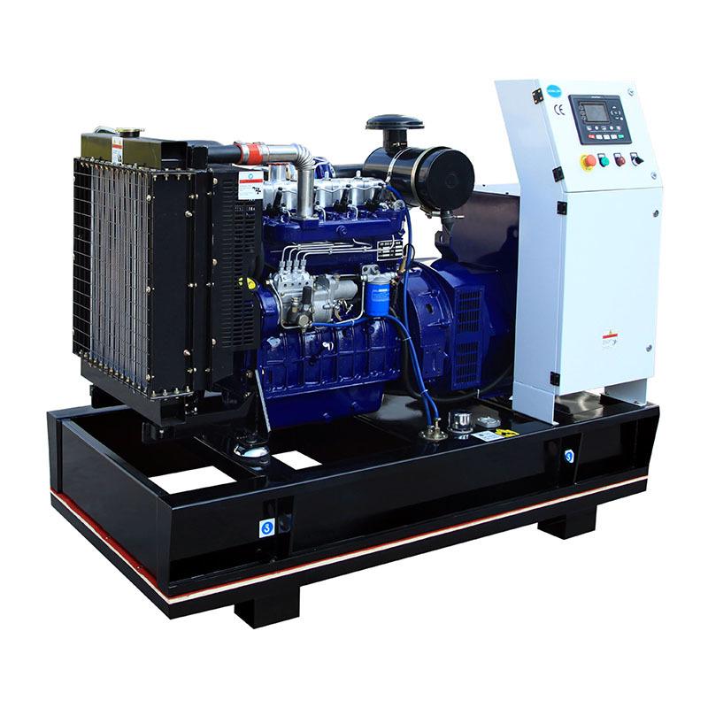4 Cylinders Open Frame AC 3-phase 50kw Power Generator Diesel