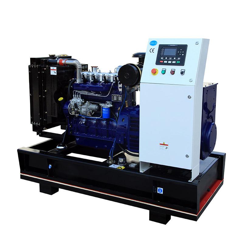Open Frame Water Cooling 24v Electric Start Brushless 3phase Diesel Generator