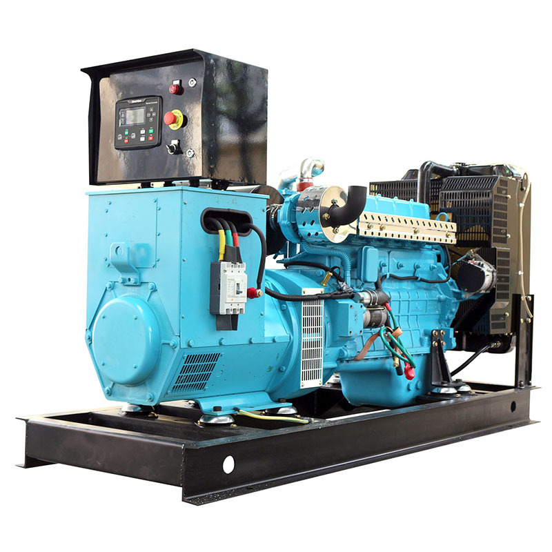24v Electric Start Brushless 6 Cylinders 100KVA Diesel Inverter Generator