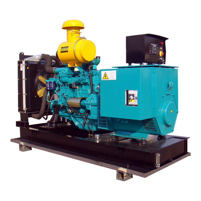 Open Frame 6 Cylinders Low Noise 270a Self Running Power Diesel Generator Price