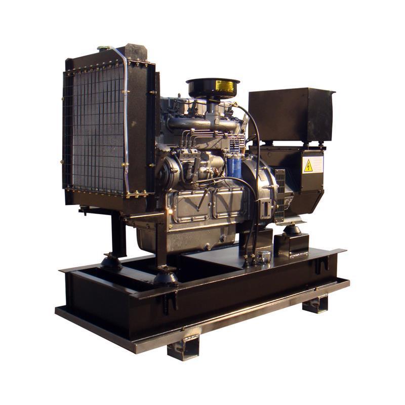 Open Frame 210g/kwh Industrial Water Cooling Diesel Generator Price