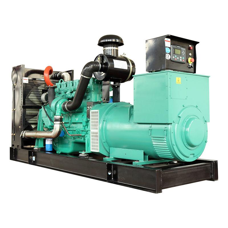 Open Frame AVR Electric Start Water Cooling Diesel Oil Generator