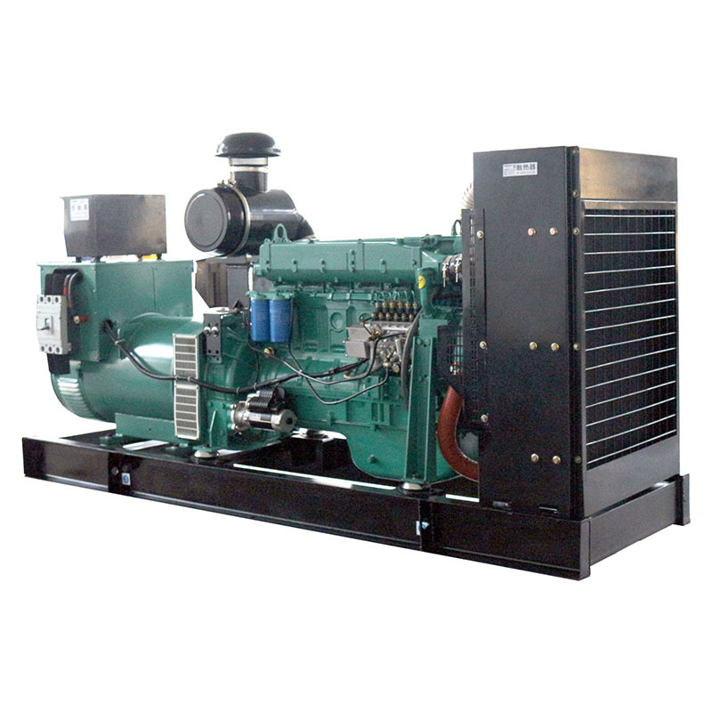 weichai Open Frame Water Cooling 24v Electric Start 6 Cylinders Power Generator Diesel