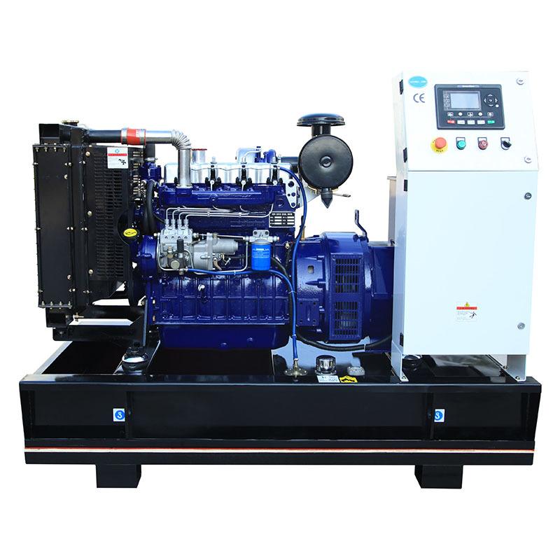 Diesel Inverter 4 Cylinders 50kva Electric Start Generator Set