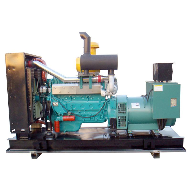 Open Frame Diesel Oil Water Cooling 200kw Ac 3 Phase Diesel Generator