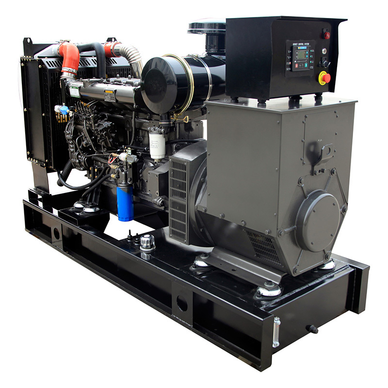 100% Copper Wire Brushless Electric Start 6 Cylinders Power Diesel Generator