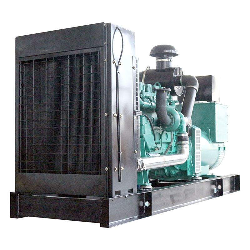 Open Frame Copper Motor Low Fuel Consumption 540A Diesel Generator Price