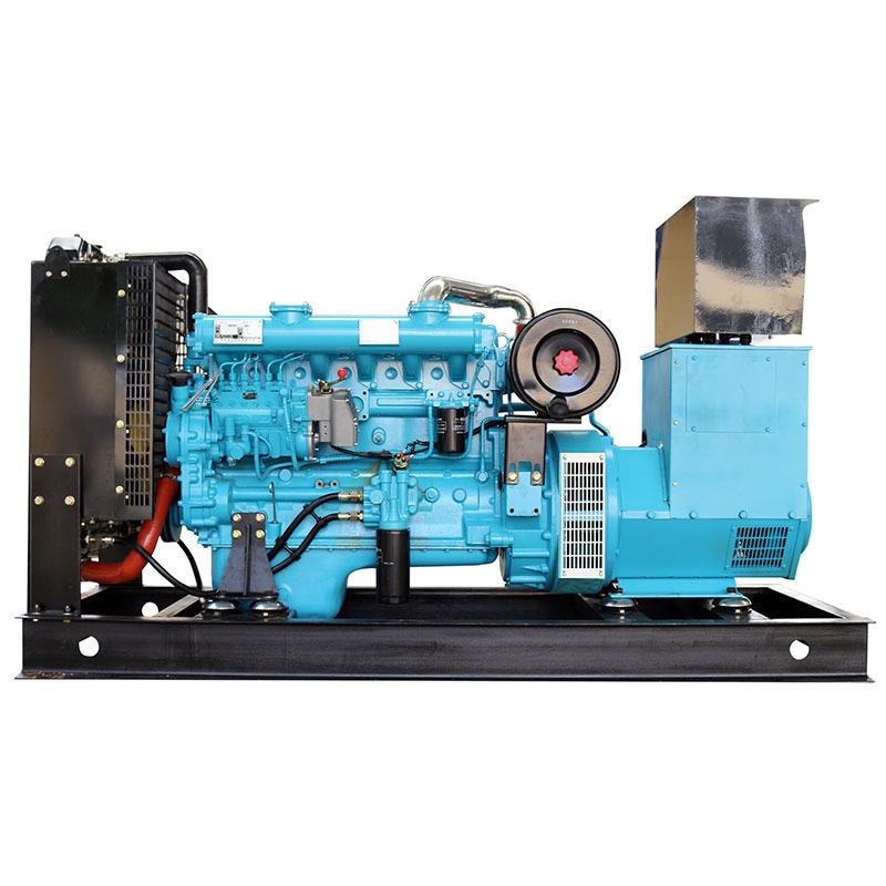 Open Frame Auto Start AC 3-phase High Power 6 Cylinders Diesel Generator Marine