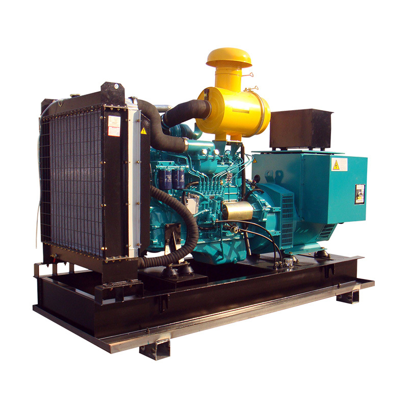 CE 6 Cylinders 200g/kw.h 150kw Open Frame Diesel Power Generators Prices