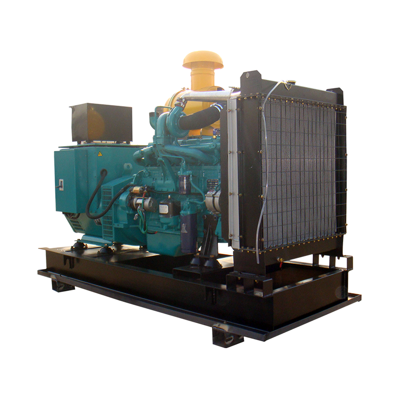 200g/kw.h 6 Cylinders 100% Copper Wire Brushless Diesel Genset