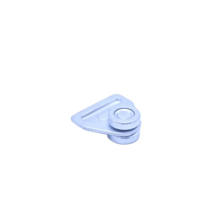 Zinc platedTruck Steel side curtain roller with two wheels