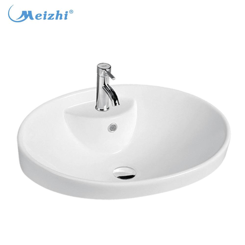 Ceramic art basin kitchen washing sink