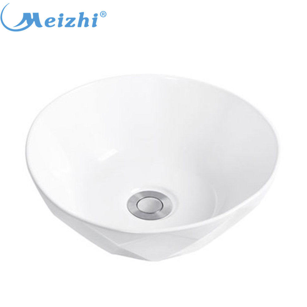 Best quality qhite color mini vessel sink wash basin