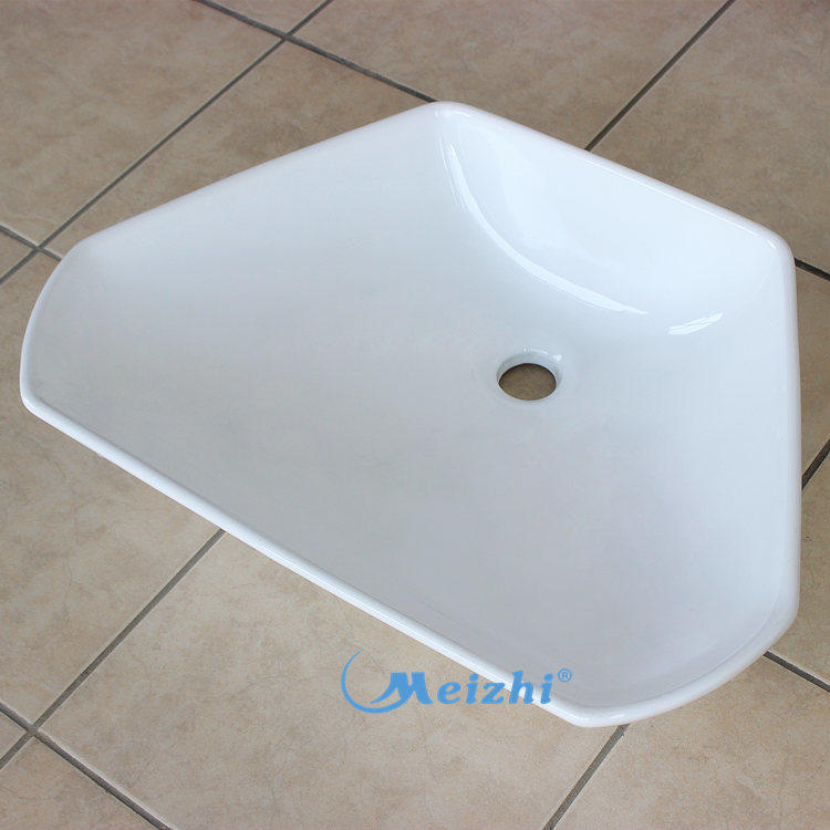 Good quality sanitary ware plant solid surface decorative concrete wash basin