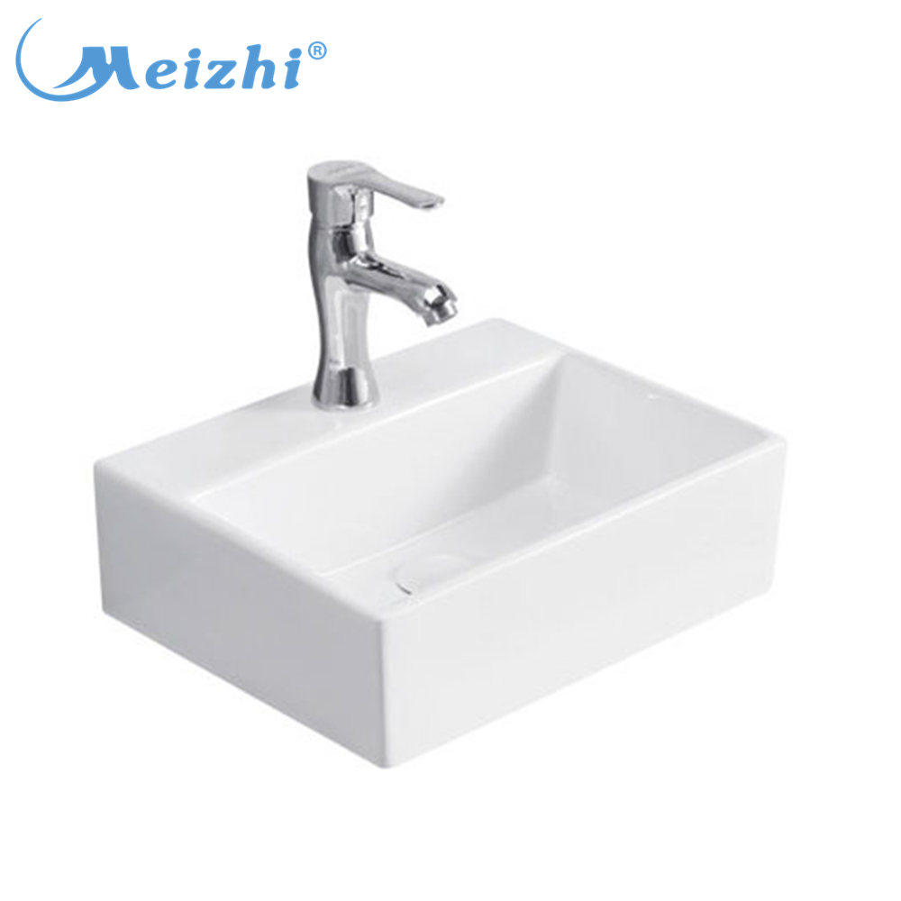 Excellent Quality Rectangle Ceramic Cheap Vanity Bathroom Sinks For Sale