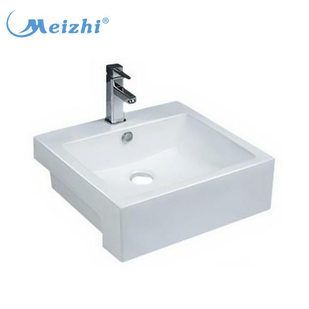 Square bathroom american standard acrylic sink