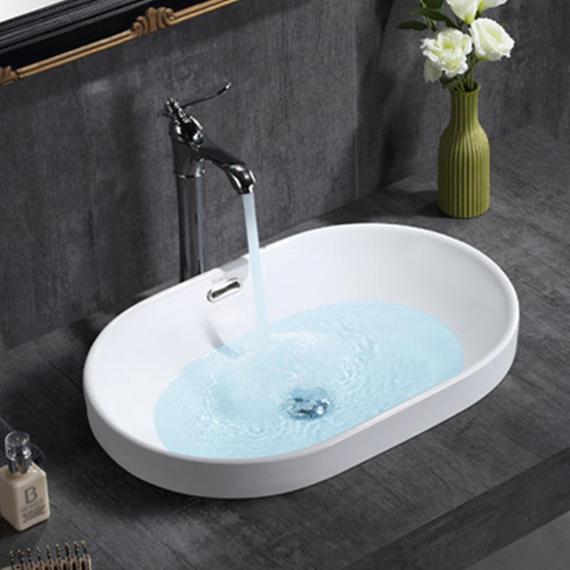 Table ceramic bathroom basin for washing clothes