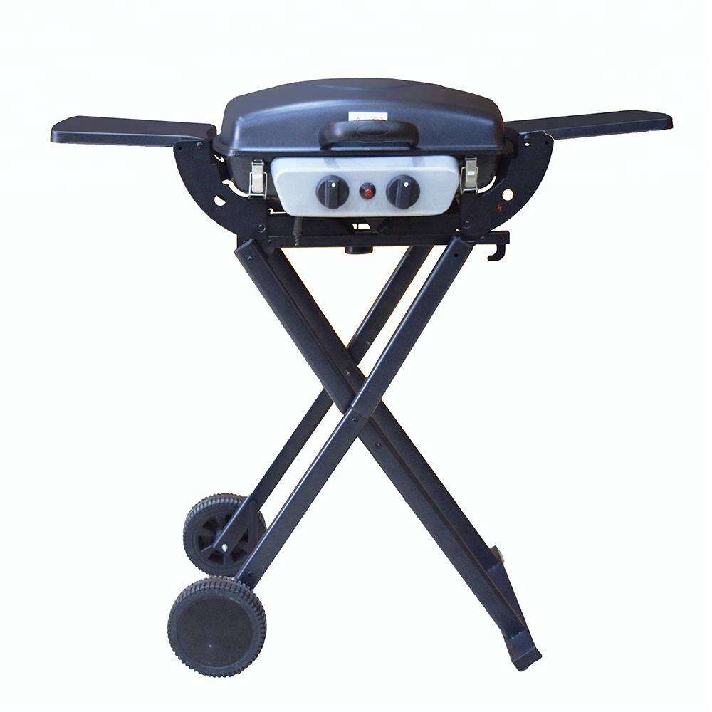 Foldable Easy Move Outdoo Camping BBQ Gas Grill Portable