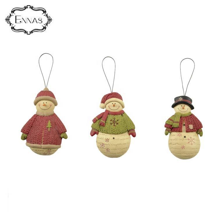 Hanging Christmas Snowman Wholesale / Christmas Snowman Ornaments