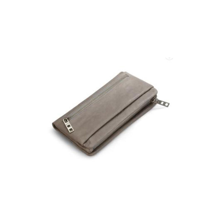High quality Leather Detachable Pouch Clutch Wallets for women fashionable multi-pocket ladies minimalist wallet card purses