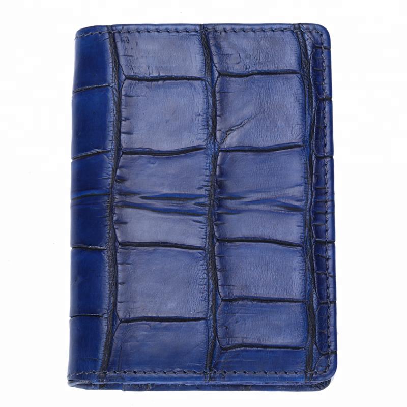 2020 Luxury Crocodile Leather ladies Credit moneyCard Wallet For Women