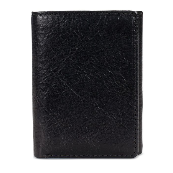 Hot Selling Fashion Men's Short Money Card Holder Business Leather Wallet