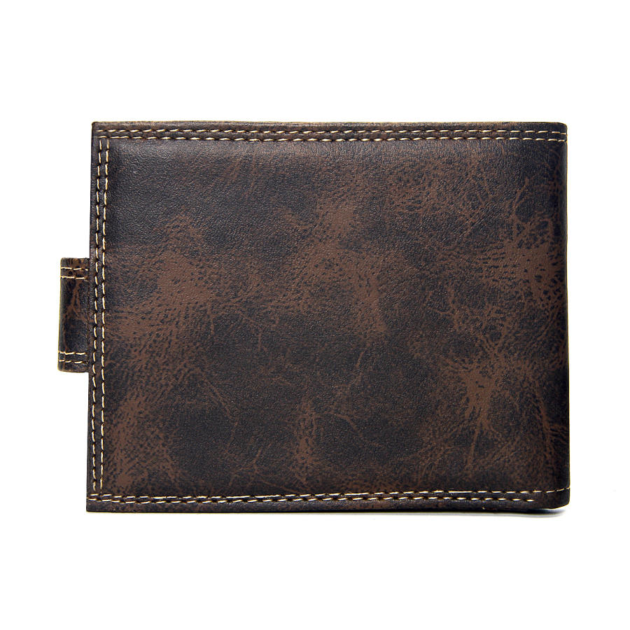 Luxury Designer Men Wallet Leather Short Wallets Men Hasp Vintage Male Purse Coin Pouch Multi-functional Cards Wallet