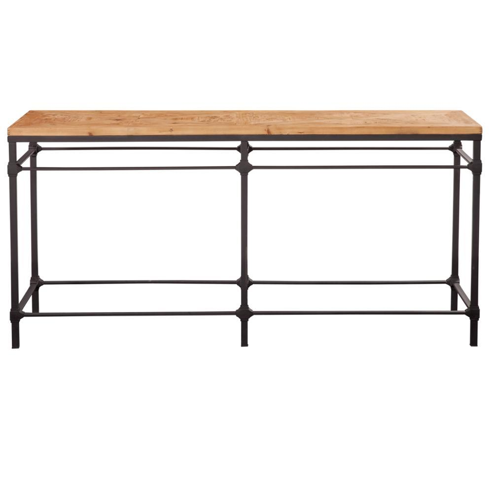French Country Style Industrial Console Table HL410