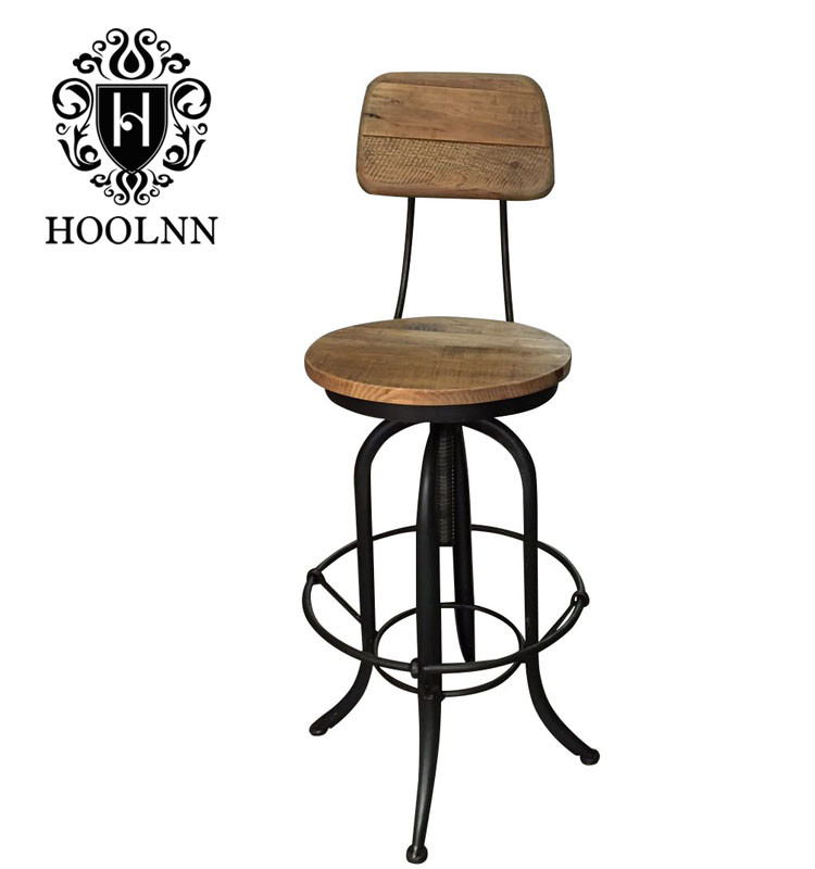 Restaurant French Style High Chair For Bar