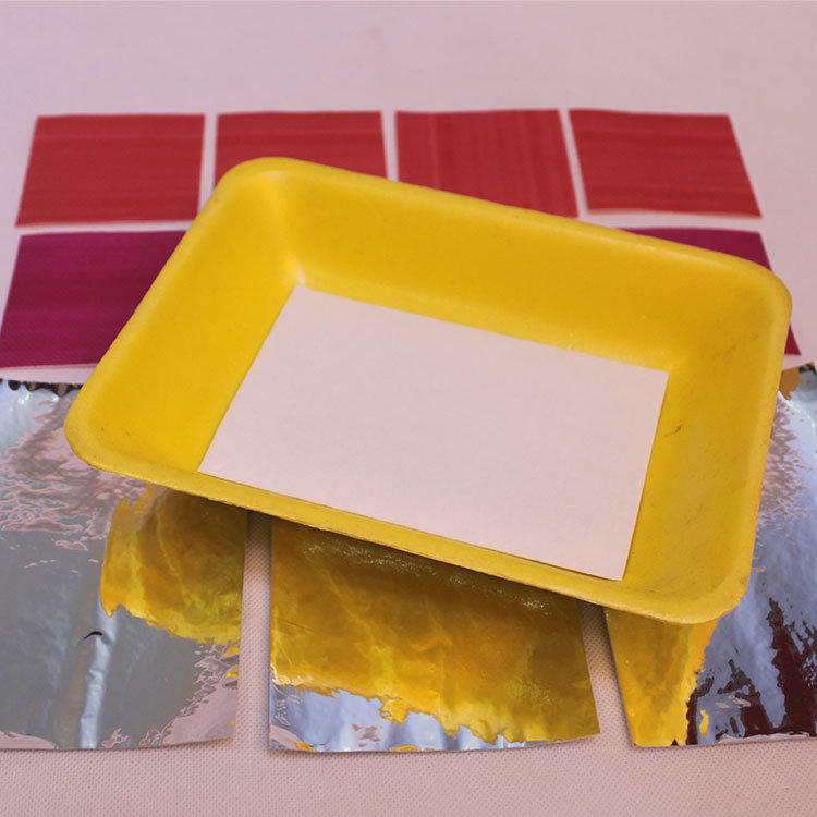 Biodegradable Customized Size Meat Absorbent Pad For Supermarket