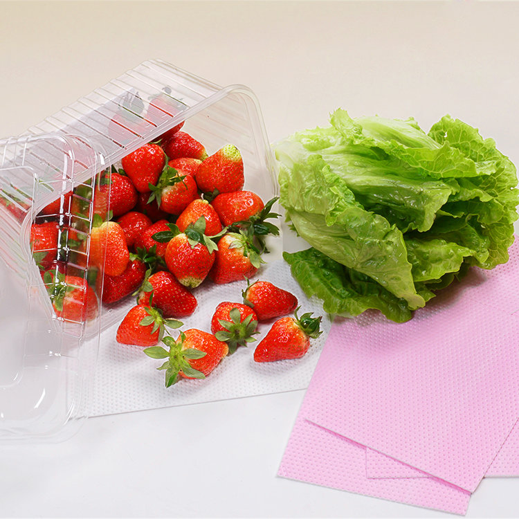 high quality Safe Material Paper Absorbent Food Pad For Meat Packaging