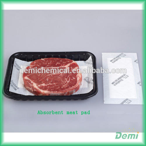 Disposable Absorbent Food Soak Meat Pads For Food Trays