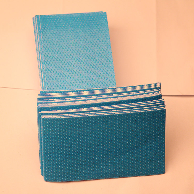 Flexible Absorbency Water Absorbent Pad For Fish Meat And Fruit
