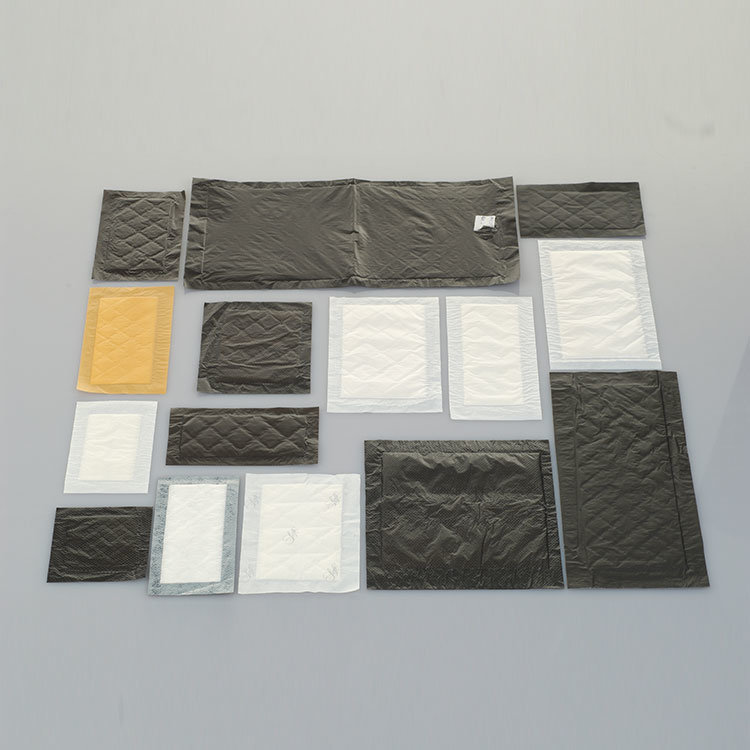 Certification Eco-Friendly Biodegradable Health Water Absorbent Pads, Customized Size Absorbent Meat Pad