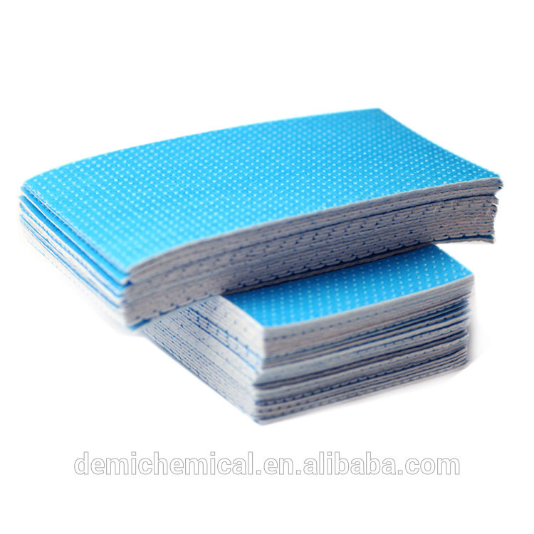 Factory Eco Friendly PE Film Absorbent Pad Customize Food Fresh High Absorbent Meat Fish Pad