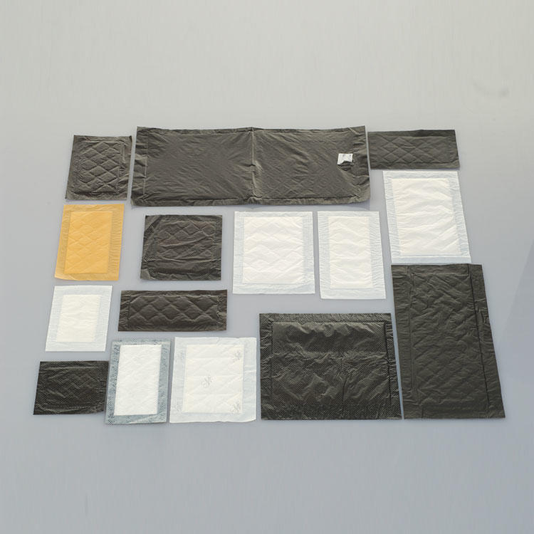 Customized Size Disposable Fresh Water Food Absorbent Pad For Meat Packaging