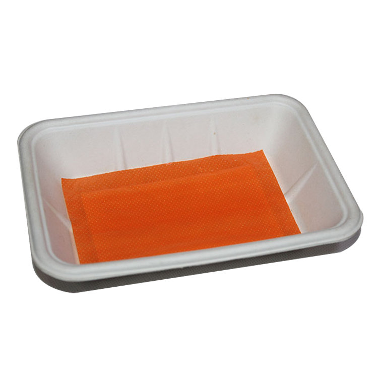 Safe Health Keep Food Fresh Absorbent Food Meat Pad For Tray