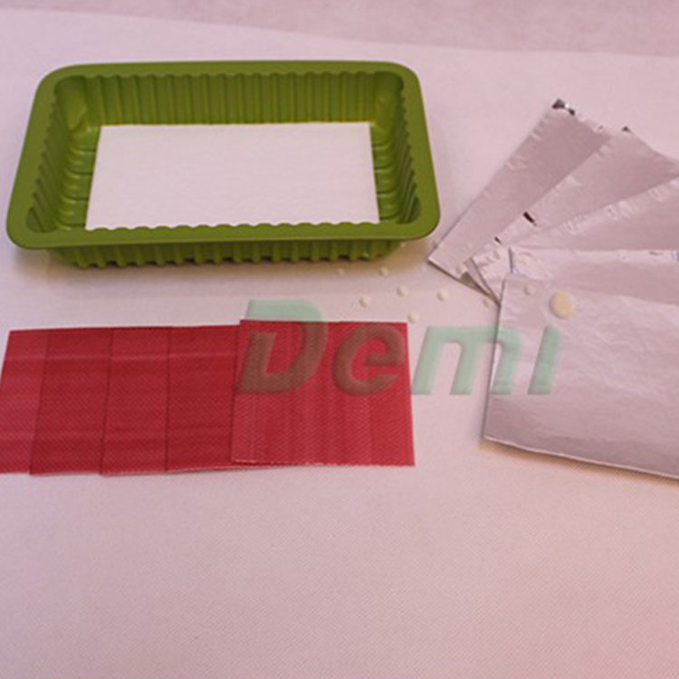 Macromolecule Water Safety Meat Tray Pad Food Absorbent Pad