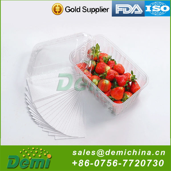 High Performance Meat Fruit Absorbent Pad Meat Tray Pad For Food Packaging