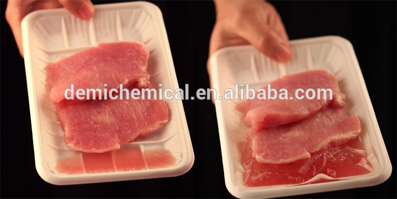 FDA approved meat soaker pad with SAP inside