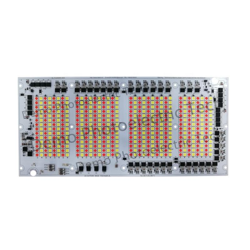 CE RoHS Certification High Power 400W Tri-color AC 220V 400W PCB PCBA DOB Driverless LED Module for Fishing Lamp LED Floodlight
