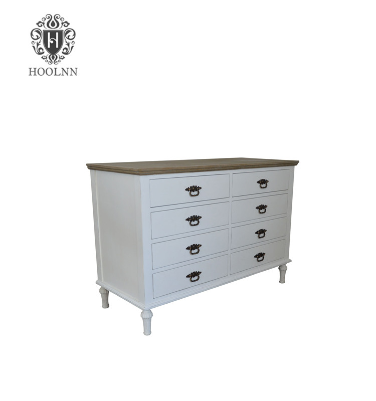 Painted Wooden Chest of Drawers HL518