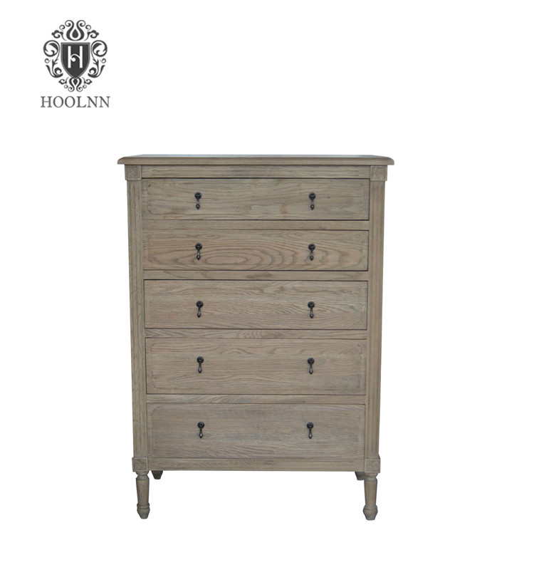 antique solid wood chest drawers for bedroom furniture HL883