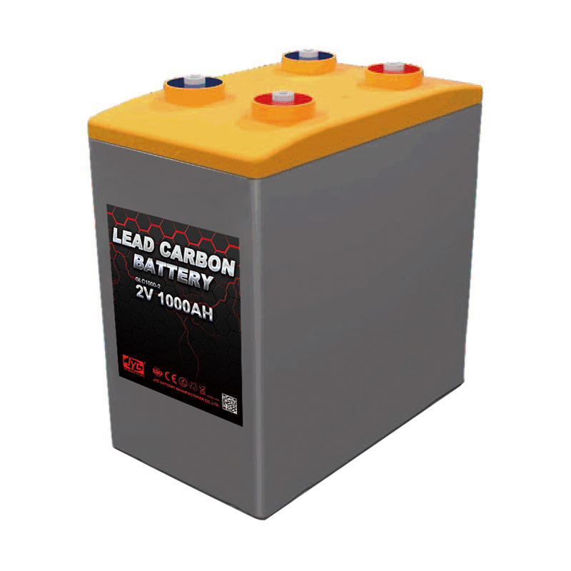 JYC Maintenance free Lead Carbon Battery 2V 1000Ah for Telecom / Solar Energy Storage / UPS